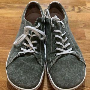 Birkenstock Arran Sunwashed Canvas Sneaker Green